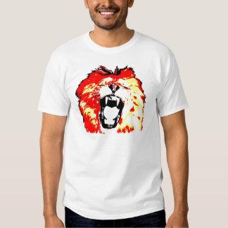 Lion Roaring Tees