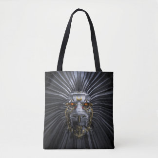 Lion Robot All-Over-Print Tote Bag
