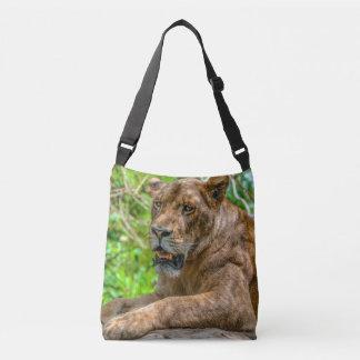 Lion S All-Over-Print Cross Body Bag Tote Bag