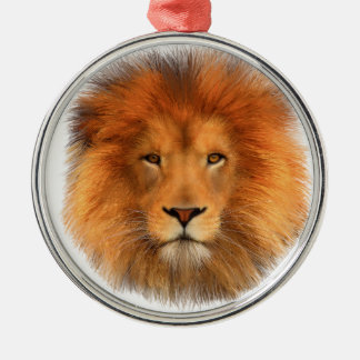 Lion's Mane Christmas Ornament