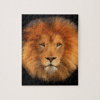 Lion's Mane Jigsaw (Black Background) Jigsaw Puzzle