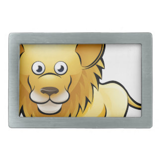 Lion Safari Animals Cartoon Character Belt Buckle