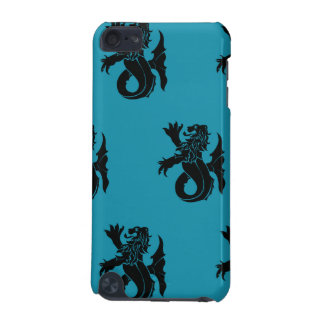 Lion Serpent Black Blue iPod Touch 5G Cover