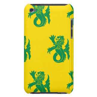 Lion Serpent Green Yellow Case-Mate iPod Touch Case