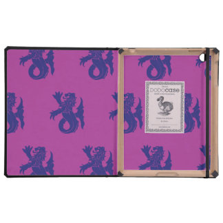 Lion Serpent Purple Magenta Covers For iPad