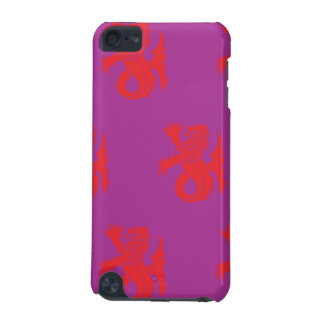 Lion Serpent Red Magenta iPod Touch (5th Generation) Covers