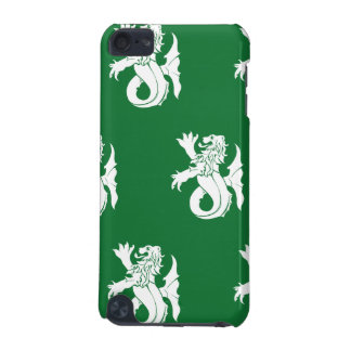 Lion Serpent White Green iPod Touch 5G Case