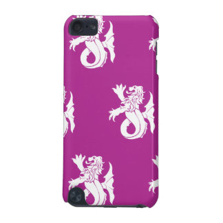 Lion Serpent White Magenta iPod Touch 5G Cases