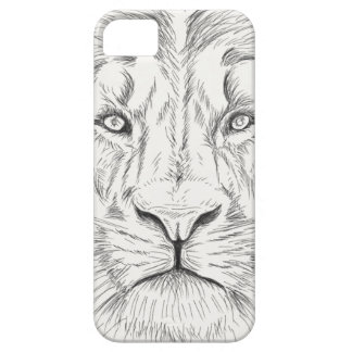 Lion sketch iPhone 5 covers