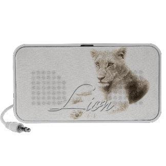 Lion Mp3 Speaker
