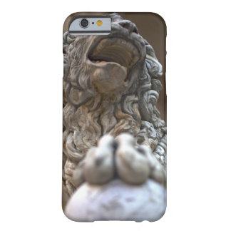 lion statue Florence Italy Barely There iPhone 6 Case