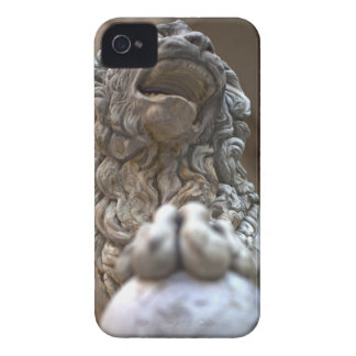 lion statue Florence Italy iPhone 4 Case