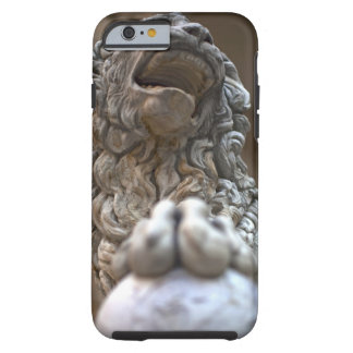 lion statue Florence Italy Tough iPhone 6 Case