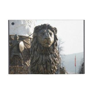 Lion Statue - Horizontal iPad Mini Cover
