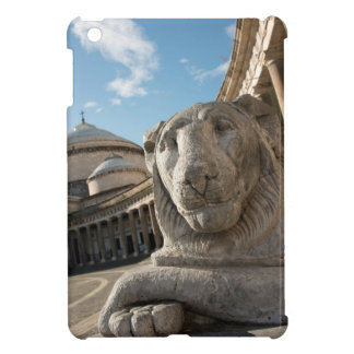 Lion statue in front of San Francesco di Paola iPad Mini Covers