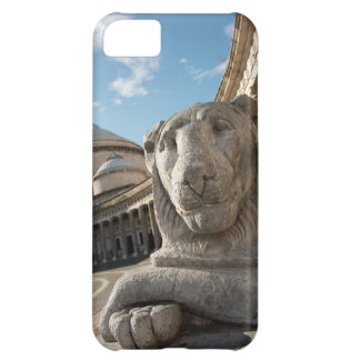 Lion statue in front of San Francesco di Paola iPhone 5C Case