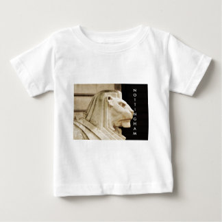 Lion statue in Nottingham Baby T-Shirt