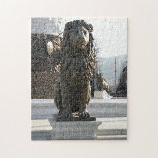 Lion Statue Jigsaw Puzzles