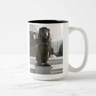 Lion Statue Mug