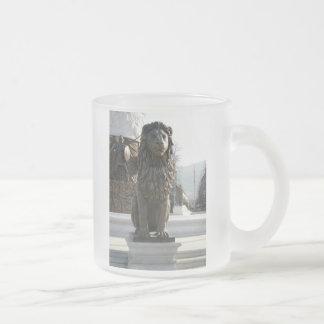 Lion Statue Mugs