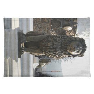 Lion Statue Placemats