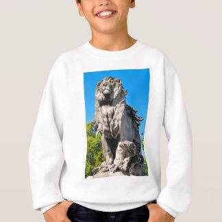Lion statue sweatshirt