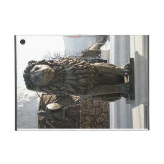 Lion Statue - Vertical Case For iPad Mini