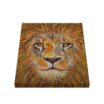 Lion Stretched Canvas Print
