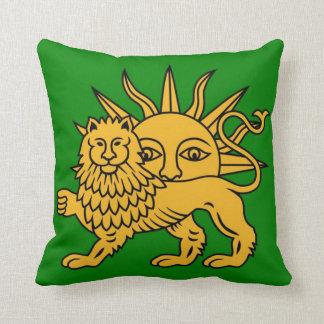 Lion & Sun Cushion
