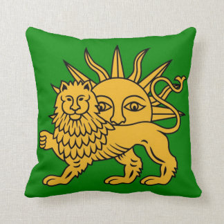 Lion & Sun Cushion