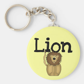 Lion T-shirts and Gifts Keychain