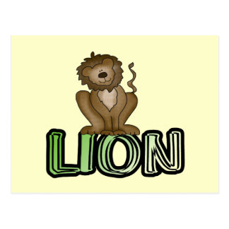Lion T-shirts and Gifts Post Cards