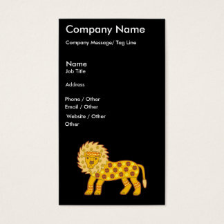 Lion Template Business Card