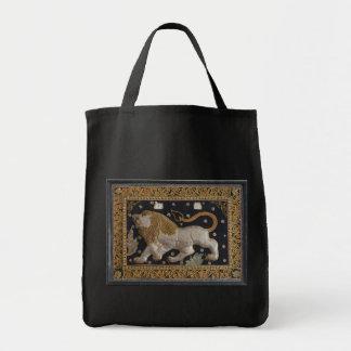 Lion Thai Tapestry Tote Bag