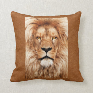 Lion The King Photo Painting Cushion