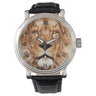 Lion The King Photo Painting Wrist Watch