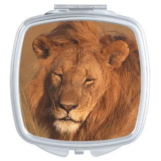 Lion Travel Mirror