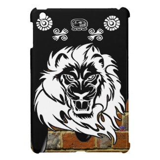 LION TRIBAL BRICK BACKGROUND PRODUCTS CASE FOR THE iPad MINI