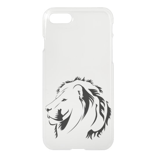 Lion Tribal iPhone 7 Clearly™ Deflector Case
