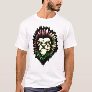 Lion TRIBAL TATTOO T-Shirt