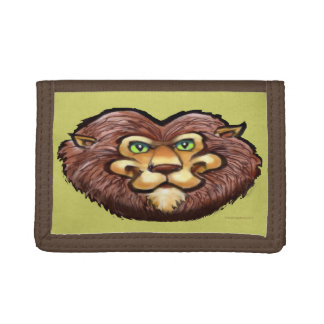 Lion Trifold Wallet