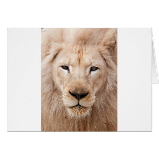 lion unleased greeting card