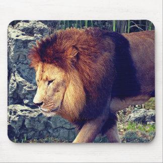 Lion Walking 3 - Mouse Mat