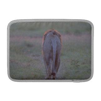Lion walking sleeve for MacBook air