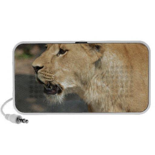 Lion Wild Animal Cat Mini Speakers