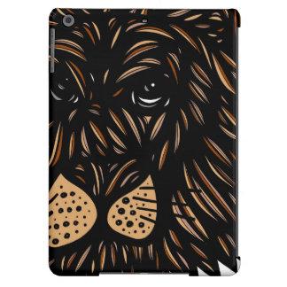 Lion Wildlife Brown Black iPad Air Covers