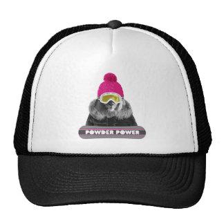 Lion Winter Sports Trucker Hats