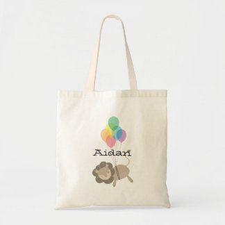 Lion with Balloons Bag