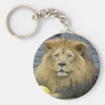 Lion with Toy Keychain