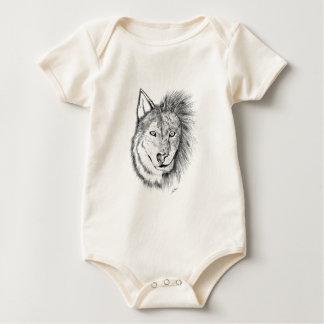 Lion Wolf Baby Bodysuit